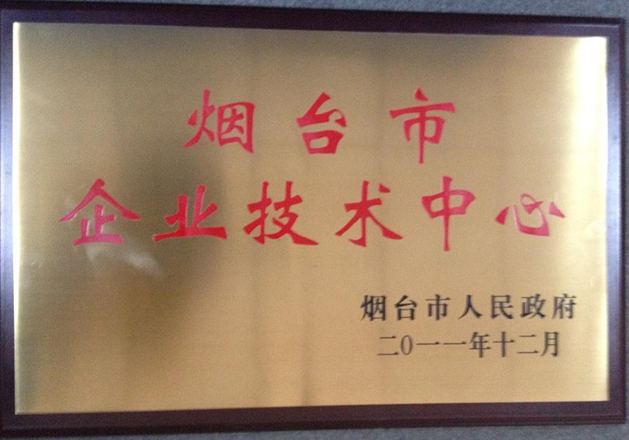 2011烟台市企业技术中心